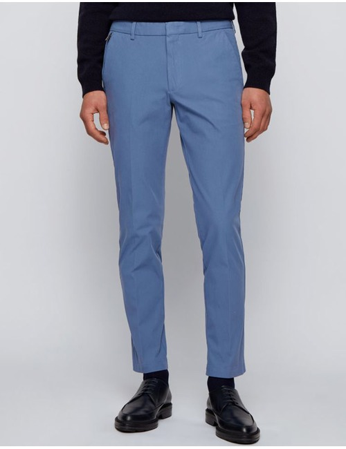 Slim fit Chino kreukvrij stretchtwill