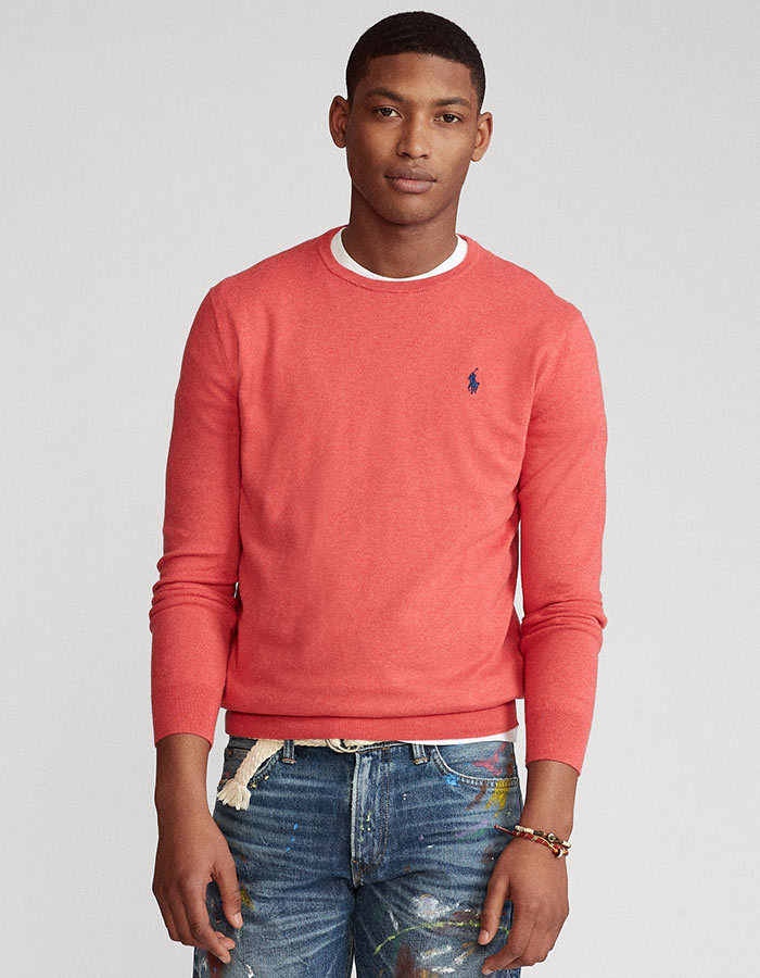 Ralph Lauren slim fit pull rood