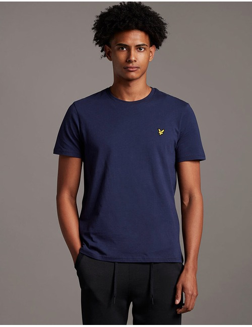 Lyle & Scott t-shirt korte mouw blauw