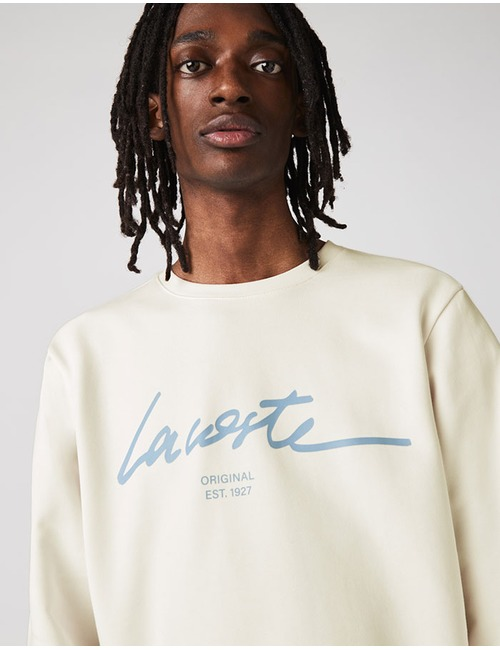 Lacoste sweater ecru