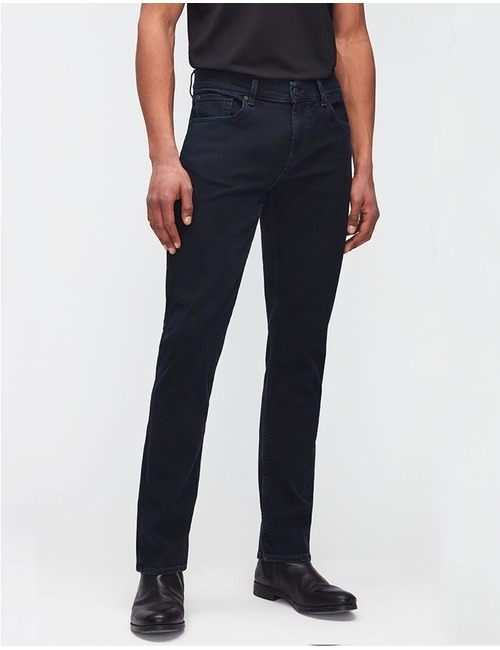 Slimmy Tapered Luxe Performance Jeans Blue Black