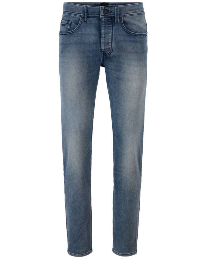 Taber Tapered fit Jeans Blauw