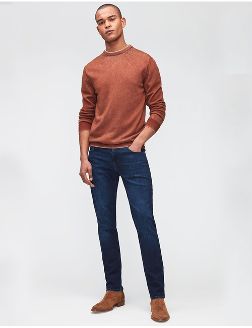 Slimmy Tapered Luxe Performance Slim fit Jeans Dark Blue