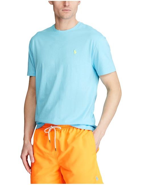 Ralph Lauren t-shirt custom slim fit blauw