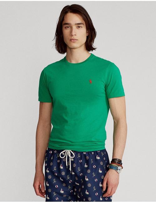Ralph Lauren t-shirt custom slim fit groen