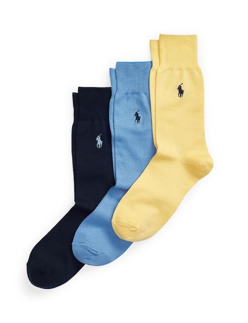 Mercerized Dress Socks 3-Pack