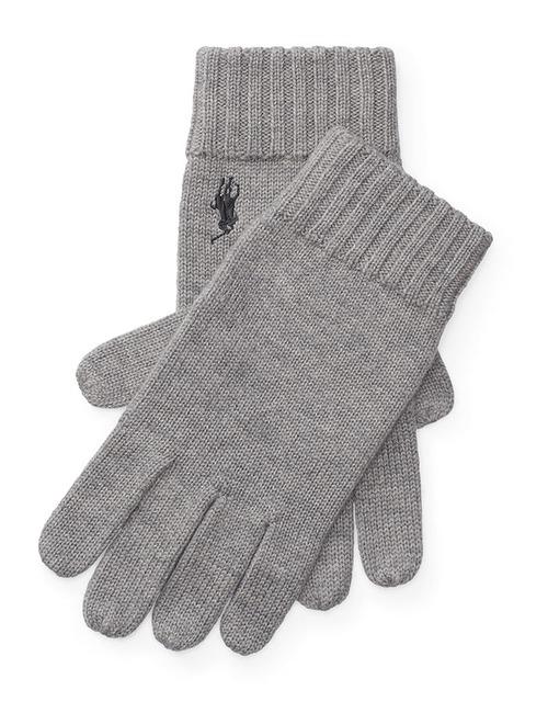 Wollen handschoenen grijs