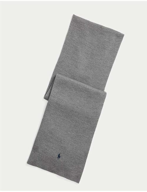 100 % Wollen sjaal Grijs