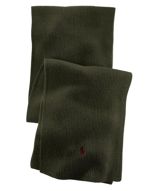 100% Wollen sjaal kaki