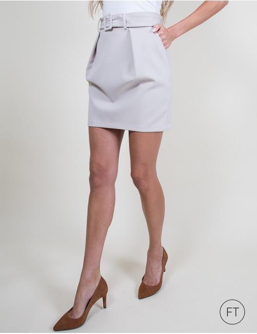 Patrizia Pepe korte rok beige