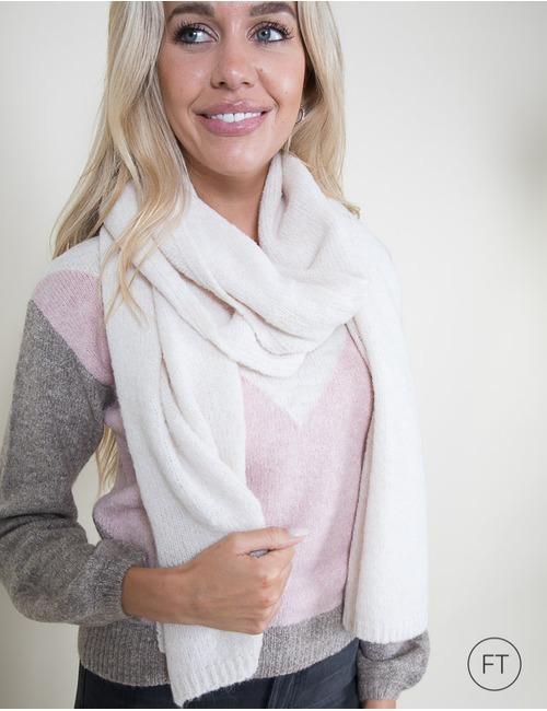 Xandres sjaals beige