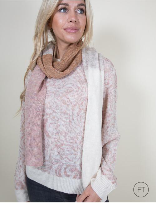 Xandres sjaals rose