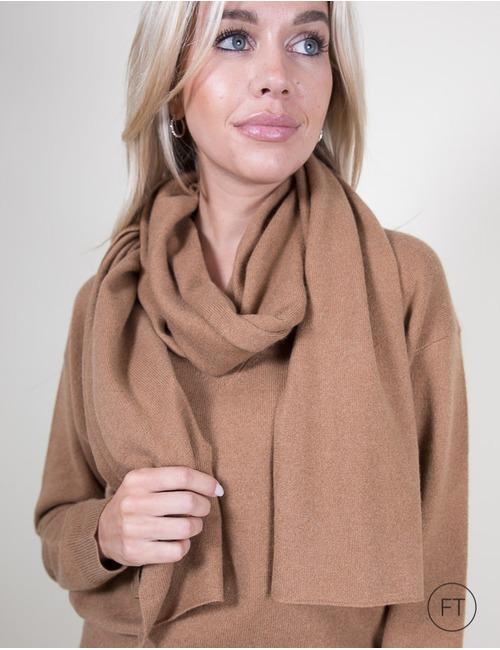 Xandres sjaals camel