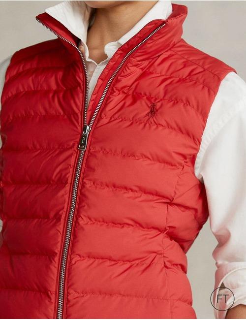 Ralph Lauren Dames bodywarmer rood