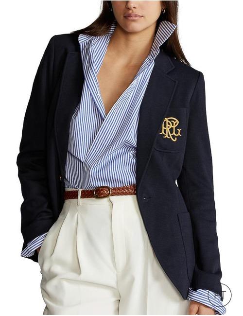 Ralph Lauren Dames blazer blauw