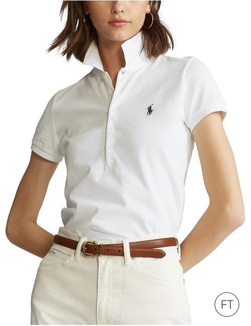 Ralph Lauren Dames korte mouw polo wit