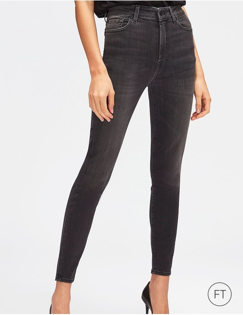 7 For All Mankind regular fit jeans grijs