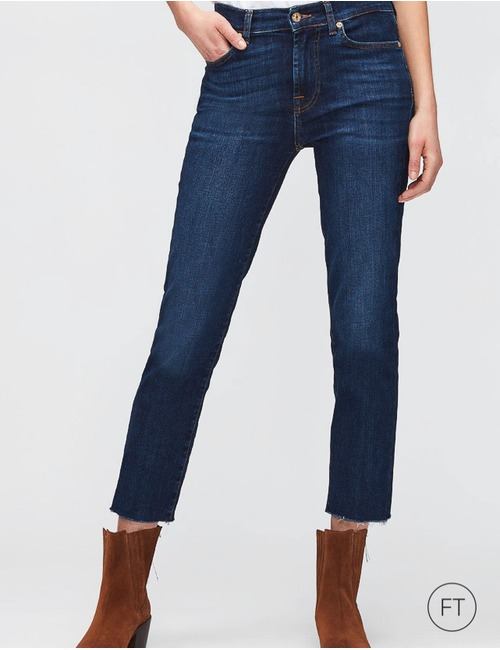 7 For All Mankind regular fit jeans blauw