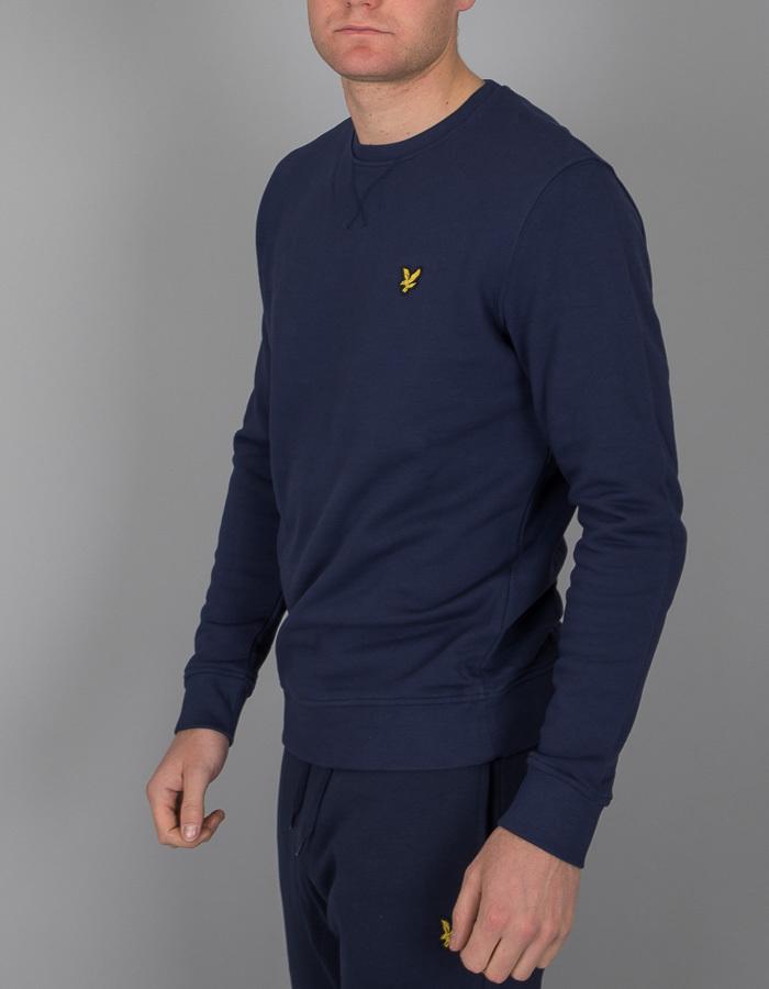 Standard Fit sweater Donkerblauw