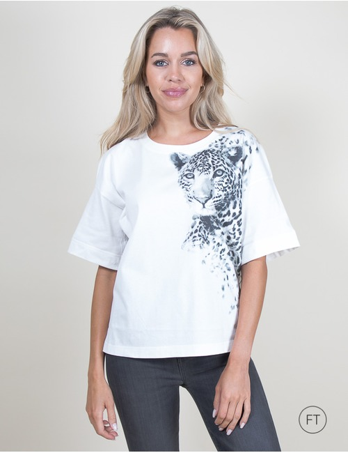 Marccain t-shirt korte mouw wit