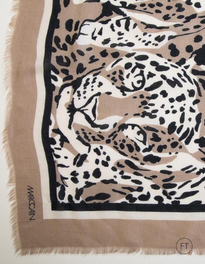 Marccain sjaals beige