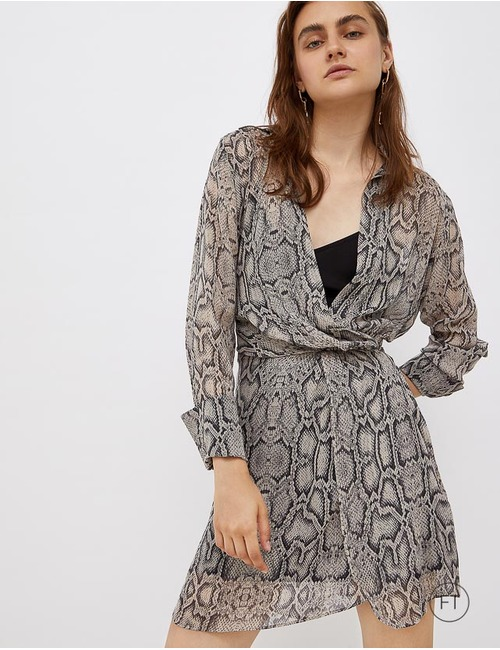 Liu Jo kort kleed grijs