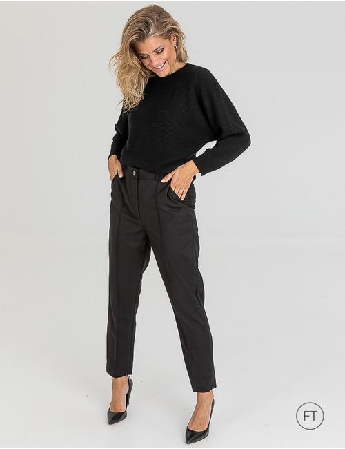 Due Amanti geklede broek zwart