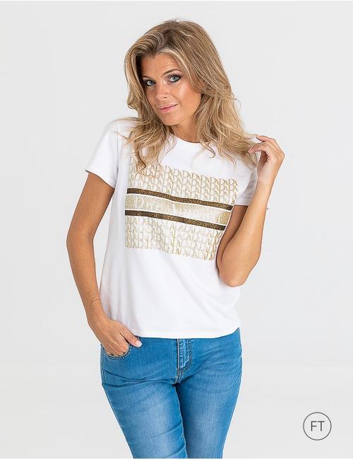 Due Amanti t-shirt korte mouw grijs
