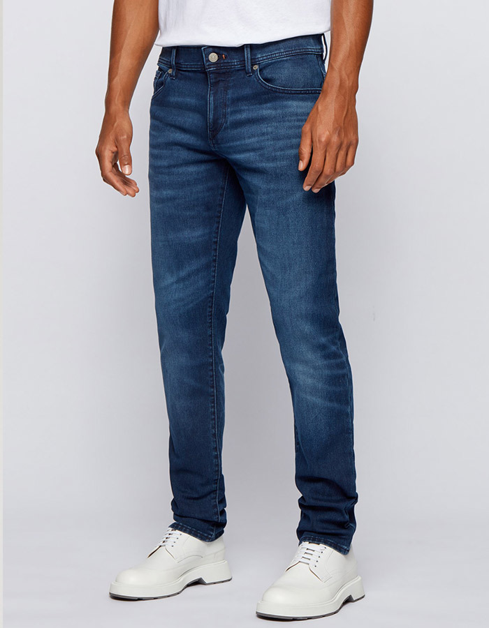 extra slim-fit jeans van comfortabel stretchdenim