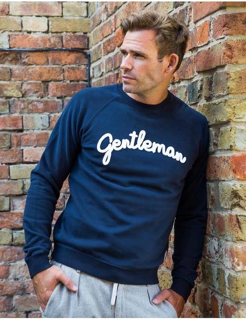 Sweater Gentleman Donkerblauw