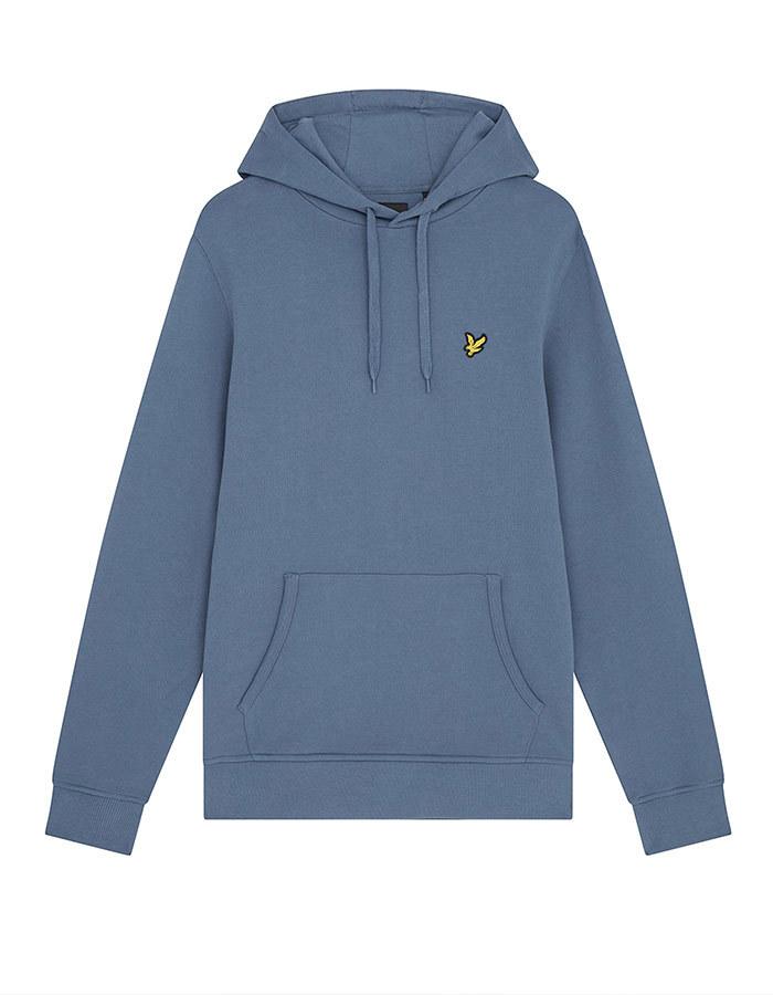 Standard Fit hoodie Blauw
