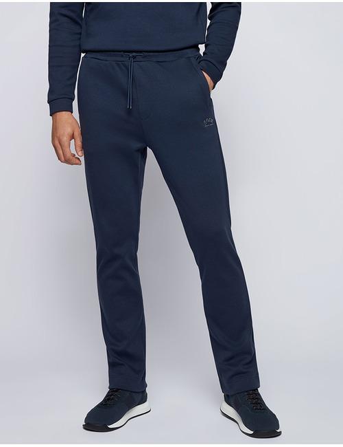 Standard fit Joggingsbroek Donkerblauw