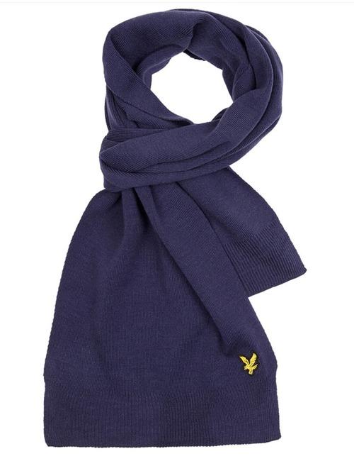Lyle & Scott sjaal blauw