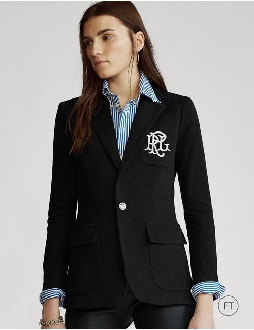 Ralph Lauren Dames blazer zwart