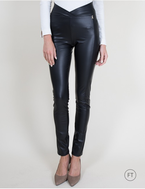 Patrizia Pepe skinny broek zwart
