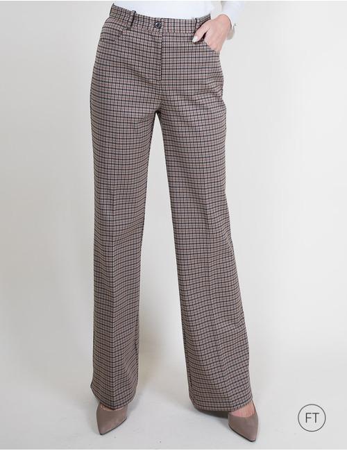 Pinko geklede broek beige