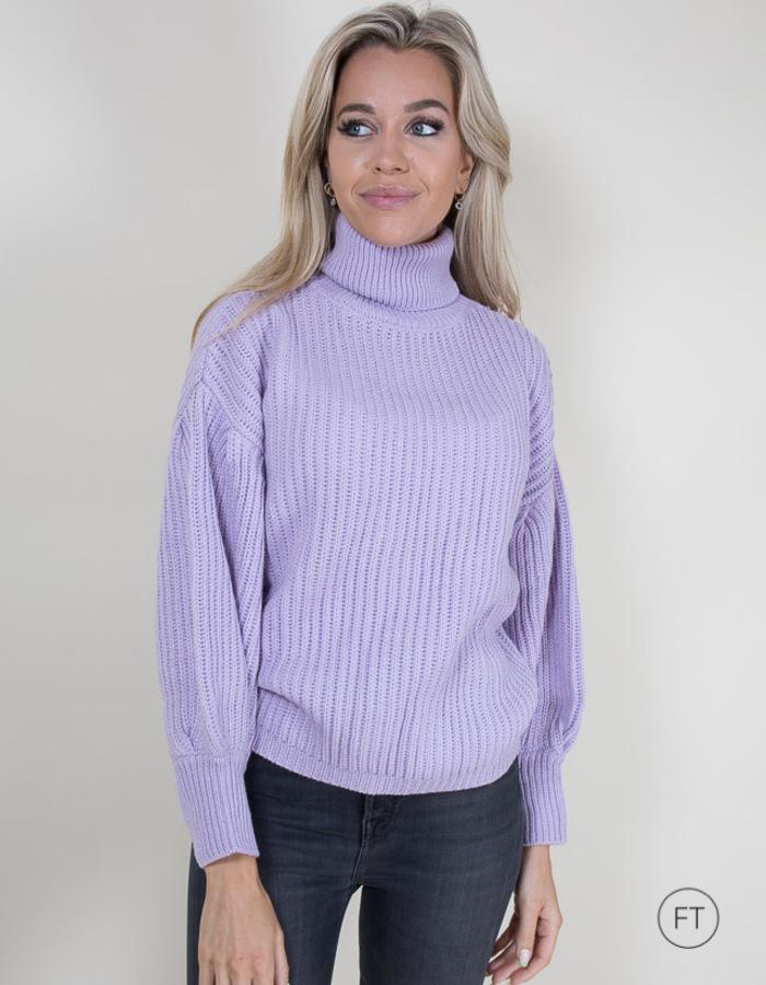 Kocca lange mouw pull paars
