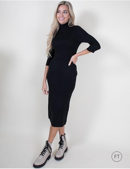 Kocca lang kleed zwart
