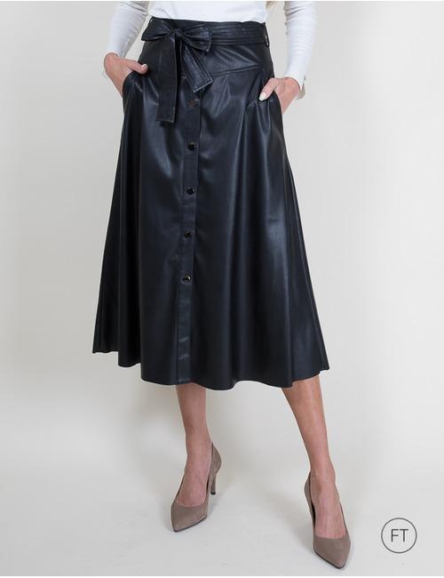 Liu Jo midi rok zwart
