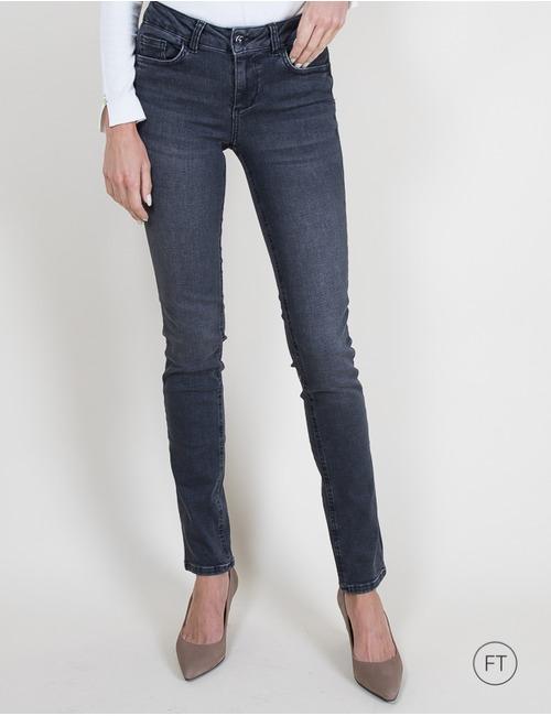 Liu Jo straight fit jeans grijs