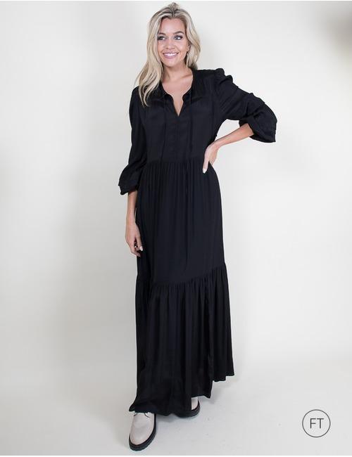 Due Amanti lang kleed zwart