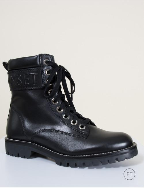 Twinset laarzen zwart