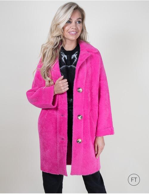 Pinko korte mantel rose