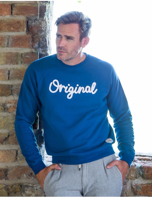Sweater Original blauw