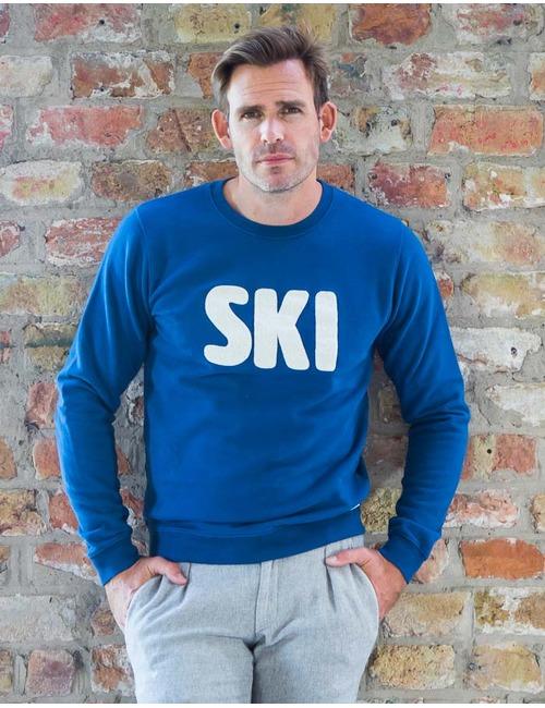 Sweater Ski Blauw