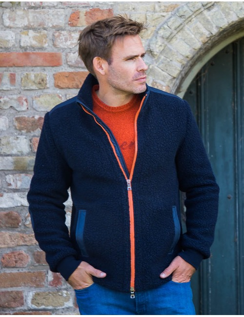Waterville jas blauw
