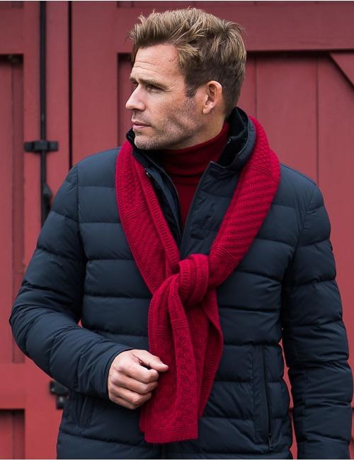 Mackie sjaal rood