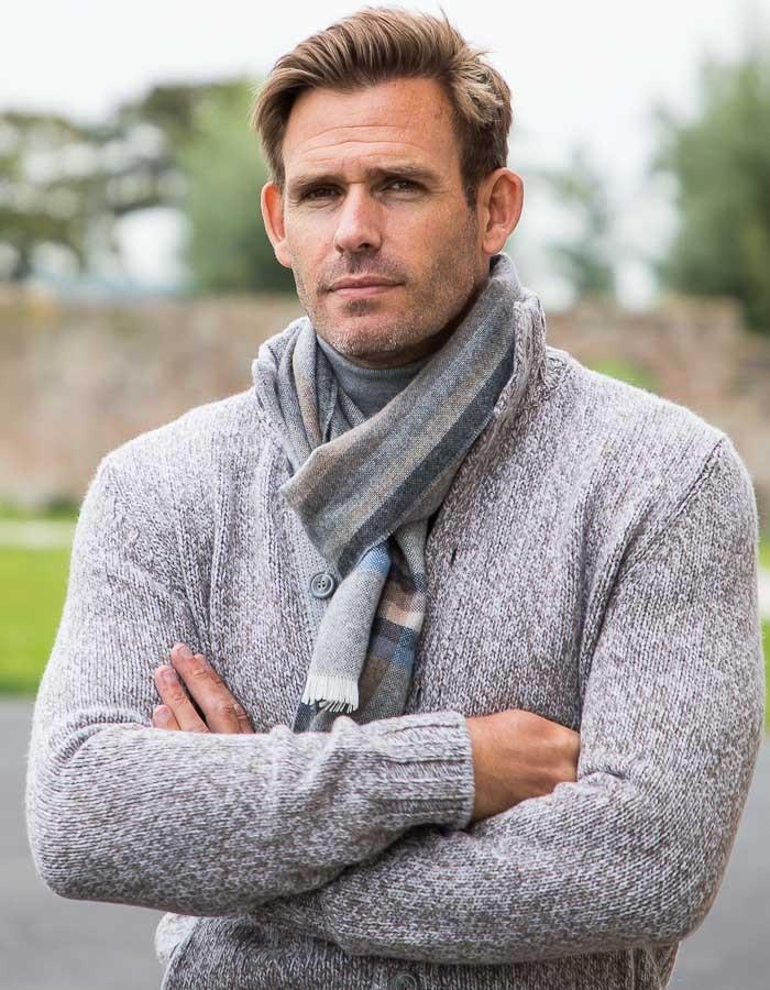 Essek sjaal grijs