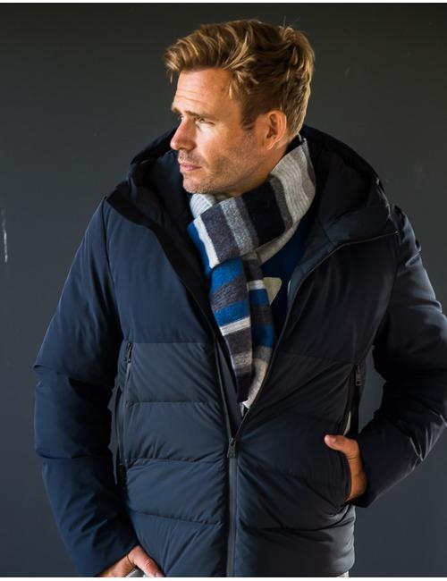Mackie sjaal blauw