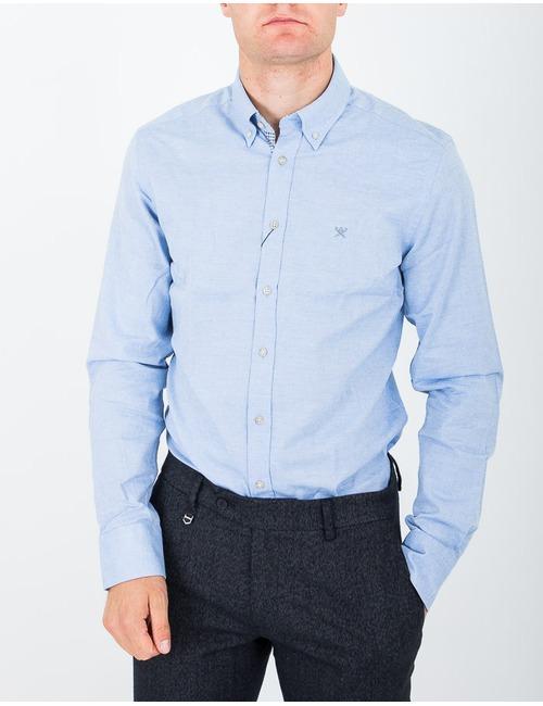 Slim fit hemd lichtblauw